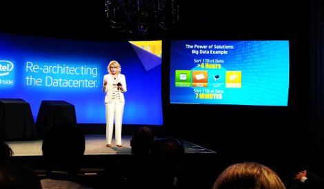 Diane Bryant, senior VP and general manager of data center and connected systems group, Intel Corp.