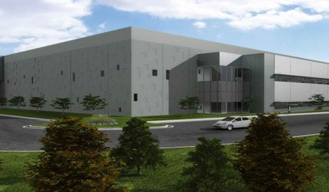 Digital Realty's Loudoun Plaza data center campus in Ashburn, Virginia (rendering)