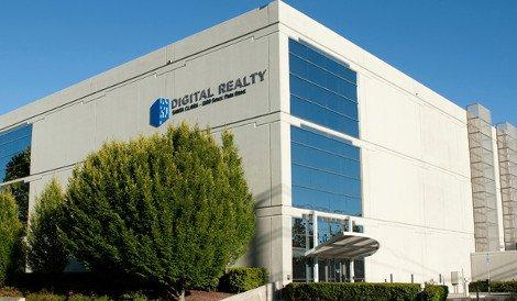 A Digital Realty data center in Santa Clara, California