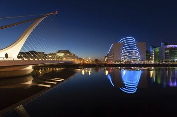 dublin ireland samuel beckett bridge thinkstock photos christobolo