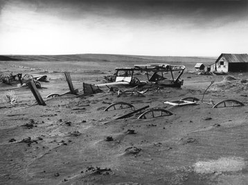 Dust Bowl Dallas South Dakota 1936