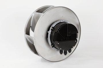 EC centrifugal blower
