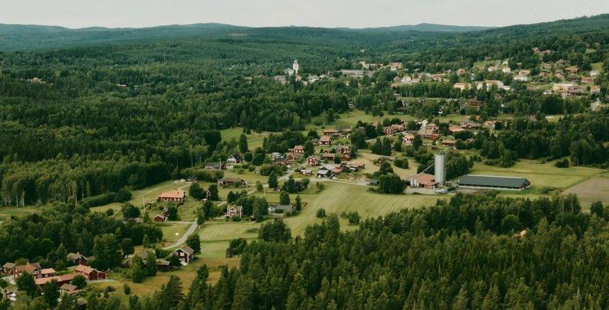 Future data center site in Falun, Sweden
