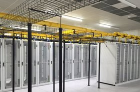 Inside an EdgeConneX data center in Miami