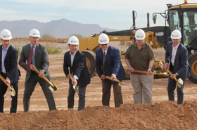 EdgeCore Mesa ground breaking