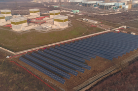Enerray's solar plant, built alongside Eni's Green Data Center
