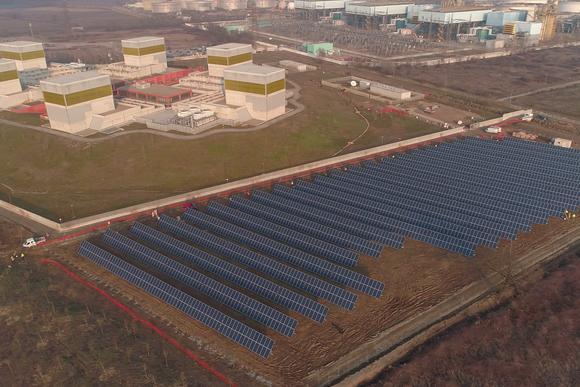 Enerray's solar plant, built alongside Eni's Green Data Center