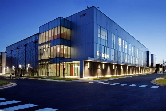 Equinix' Ashburn data center,