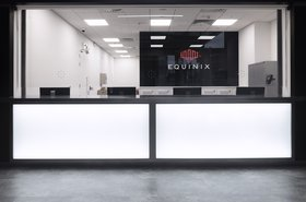 Equinix reception