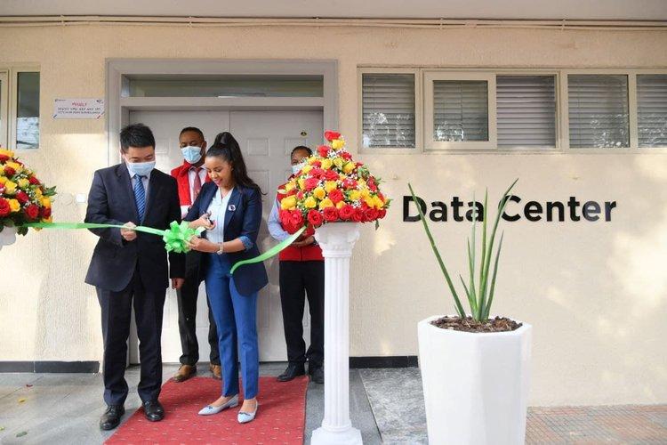 Ethio telecom opens new Huawei-built modular data center in Addis Ababa, Ethiopia