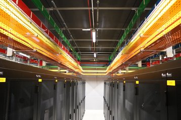 Inside of an Etix data center