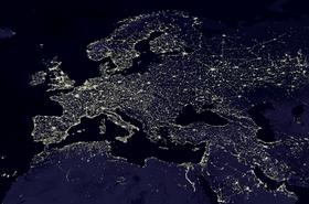 Europe by night