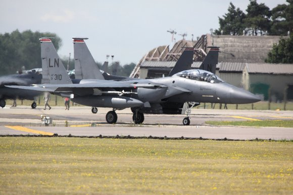 F15 Eagle at RAF Lakenheath