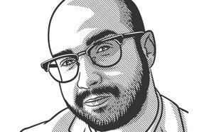 Fernando Albacete caricature