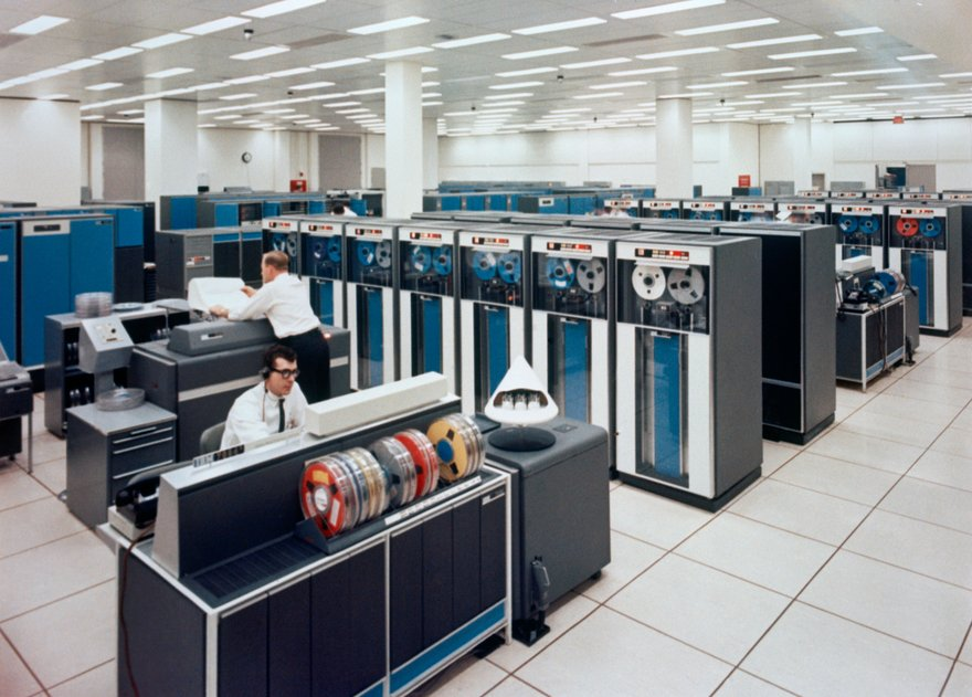 IBM 7094 mainframe launched in 1959