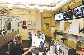 FirstLight Hampshire data center control room
