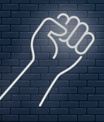 Fist wall