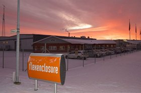 Flexenclosure's existing production facility in Vara, Sweden