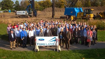 Ford groundbreaking