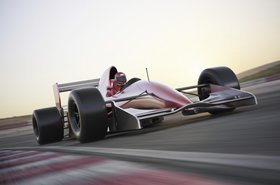 Formula One F1 car racing speed Thinkstock DigtialStorm