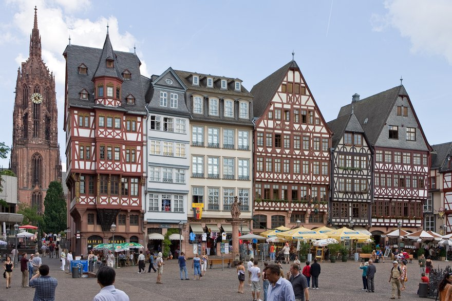 Frankfurt. Image courtesy of the Creative Commons and SreeBot