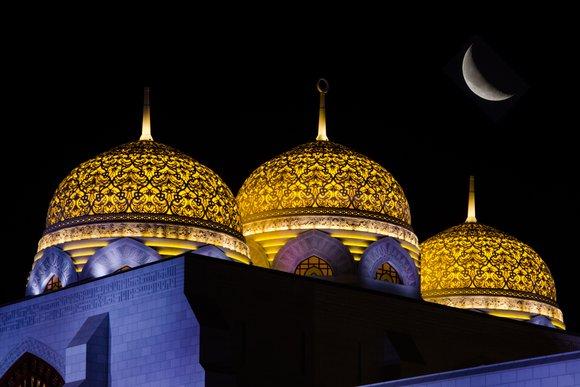 Mohammed Al Ameen Grand Mosque, Muscat, Oman