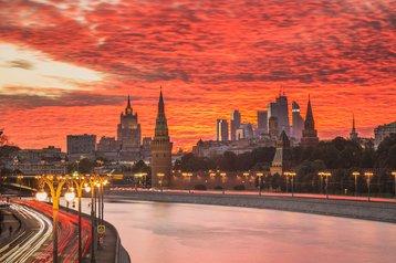 Moscow skyline