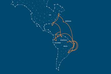 GlobeNet's submarine network