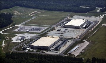 Google's Berkely County, South Carolina data center
