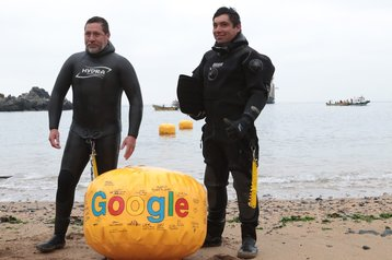 Google Curie landing