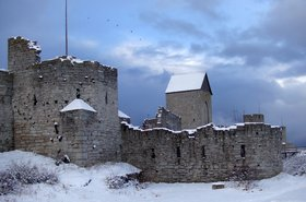 Part of the Visby ringwall, Gotland