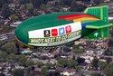 Greenpeace Blimp over 101