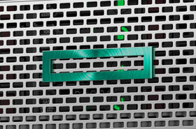 HPE logo on a ProLiant server