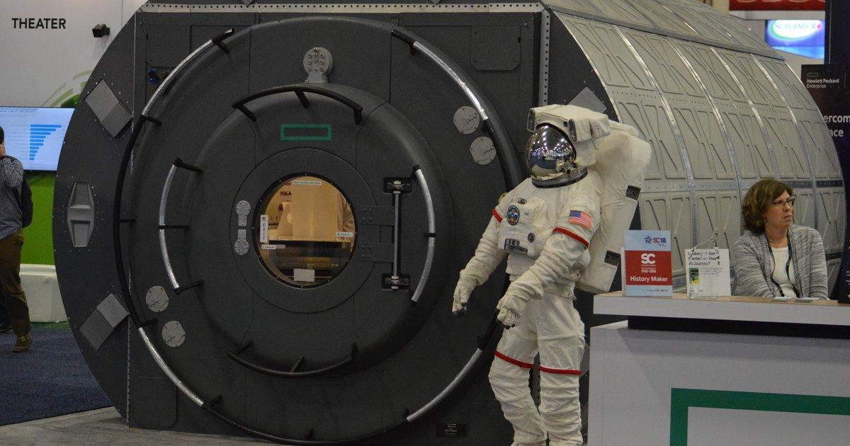Hewlett Packard Enterprise S Spaceborne Computer Returns