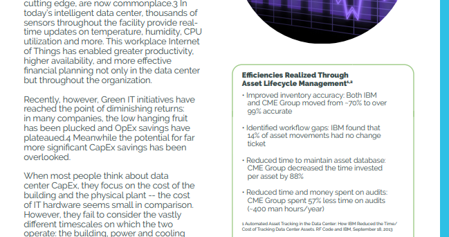 How Real-Time Asset Management Can Save Data Centers Millions of