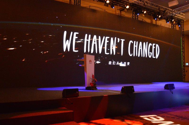 Changing Huawei