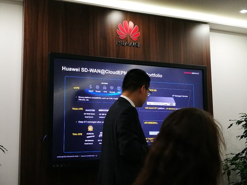 Huawei employees