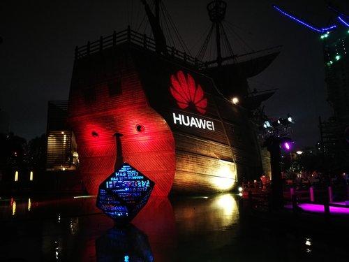 Huawei Pirate Ship