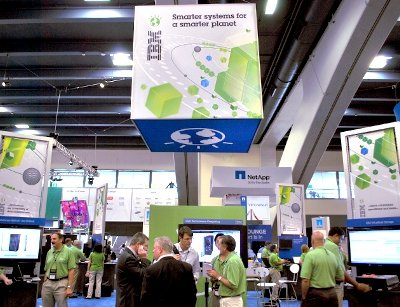 IBM stand at VMworld 2010 in San Francisco