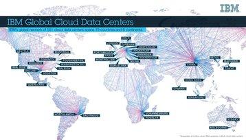 IBM Cloud data center map April 2017