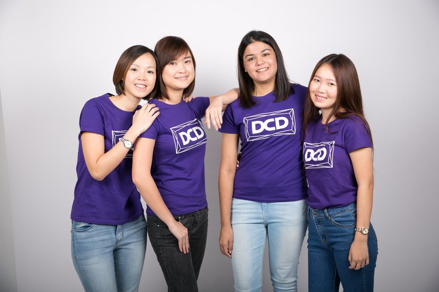 Photo: DCD APAC Marketing and Delegates Team