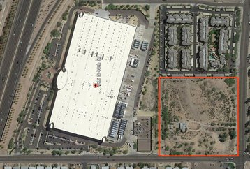 IO campus in Phoenix, and the site of planned expansion