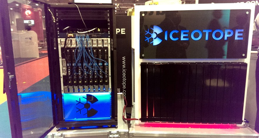 Iceotope system