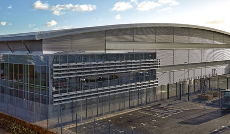 Infinty's newest data center in Slough, UK