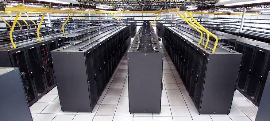 Inside a Tierpoint data center