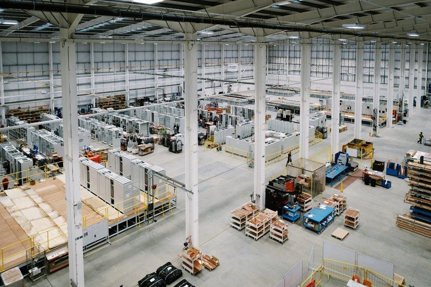Inside Anord Mardix's Blackburn hyperscale data center fabrication facility