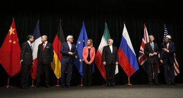 Foreign ministers discuss Iran nuclear deal, Vienna, July 2015