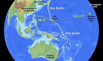 Map Of Australia Japan.Construction Of Japan Guam Australia Submarine Cable Begins