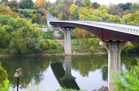 James Rumsey Bridge, Potomac River, West Virginia