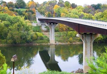 James Rumsey Bridge, Potomac River, West Virginia